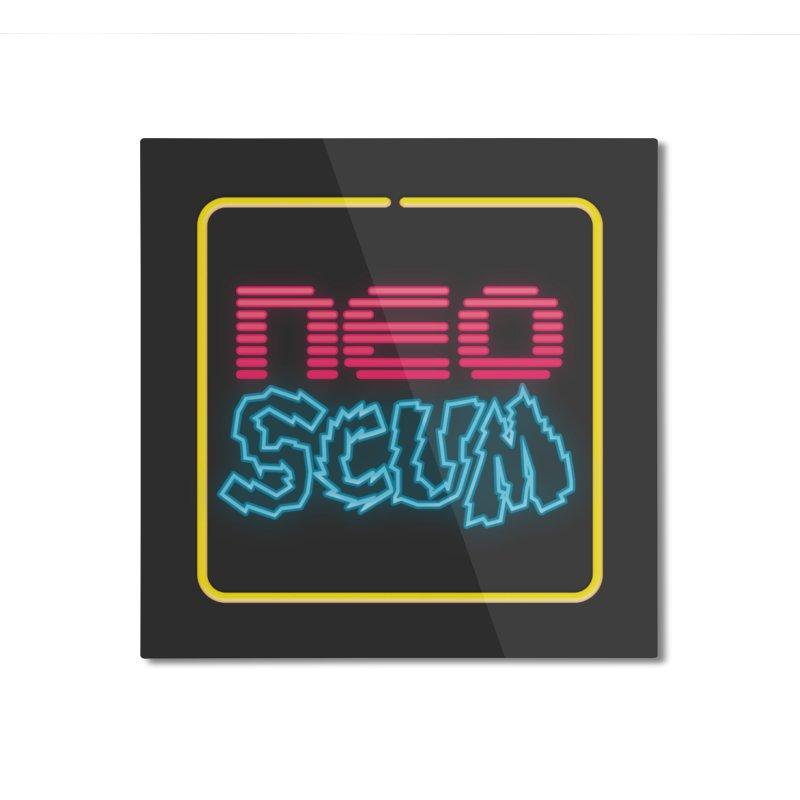 NeoScum OG Logo Home Mounted Aluminum Print by NeoScum Shop