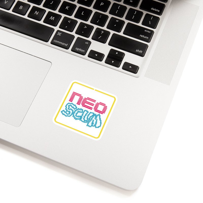 NeoScum OG Logo Accessories Sticker by NeoScum Shop