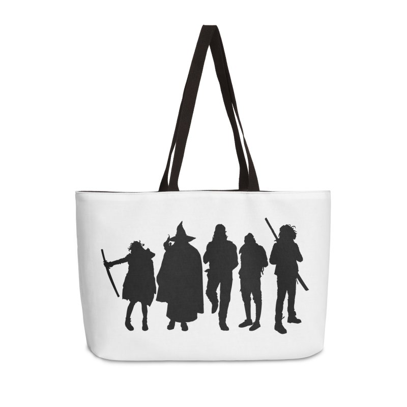 NeoScum Shadows Accessories Weekender Bag Bag by NeoScum Shop