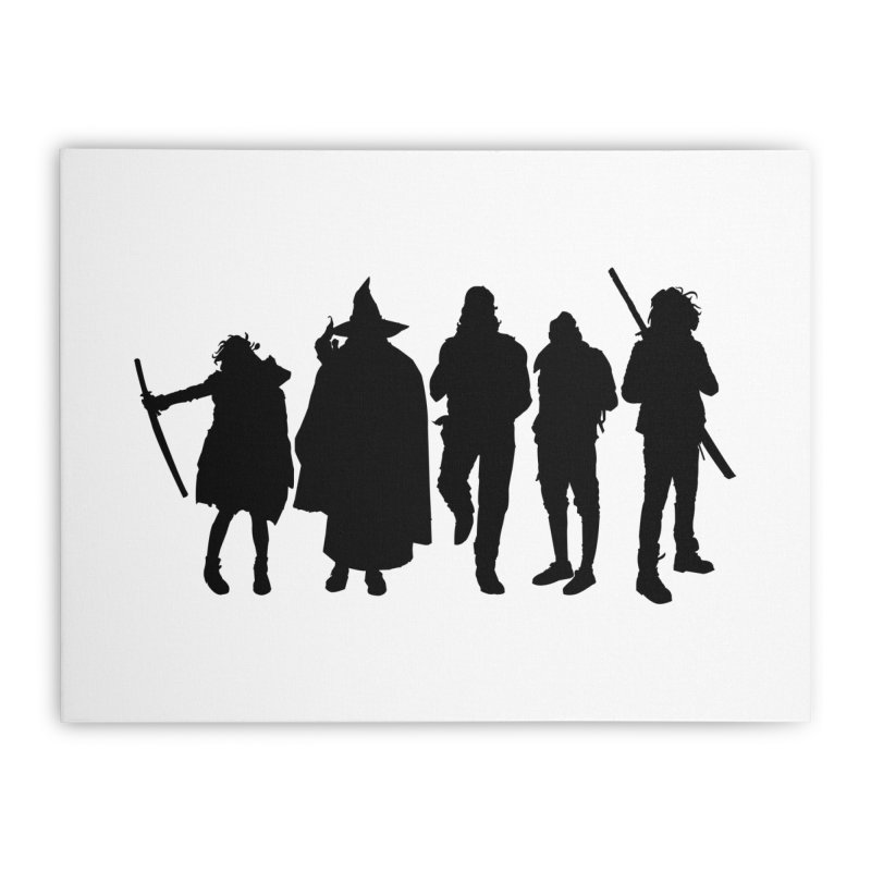 NeoScum Shadows Home Stretched Canvas by NeoScum Shop