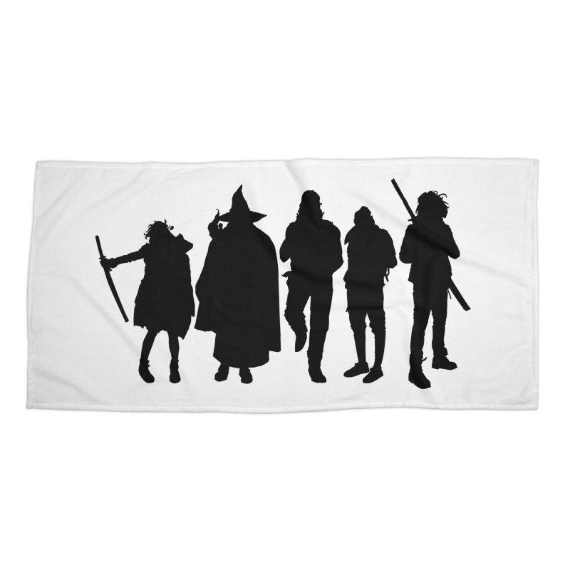 NeoScum Shadows Accessories Beach Towel by NeoScum Shop