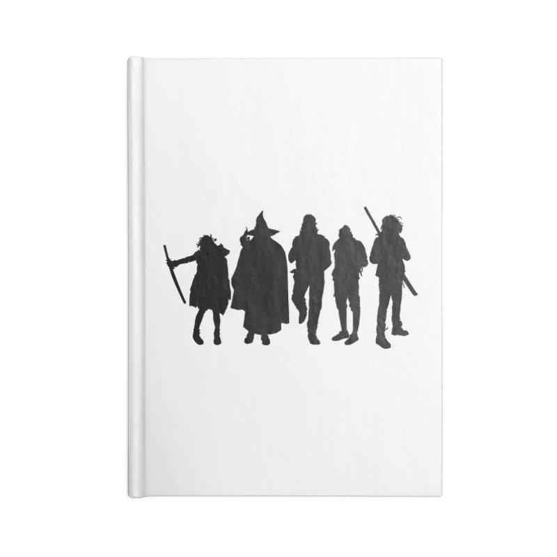 NeoScum Shadows Accessories Blank Journal Notebook by NeoScum Shop