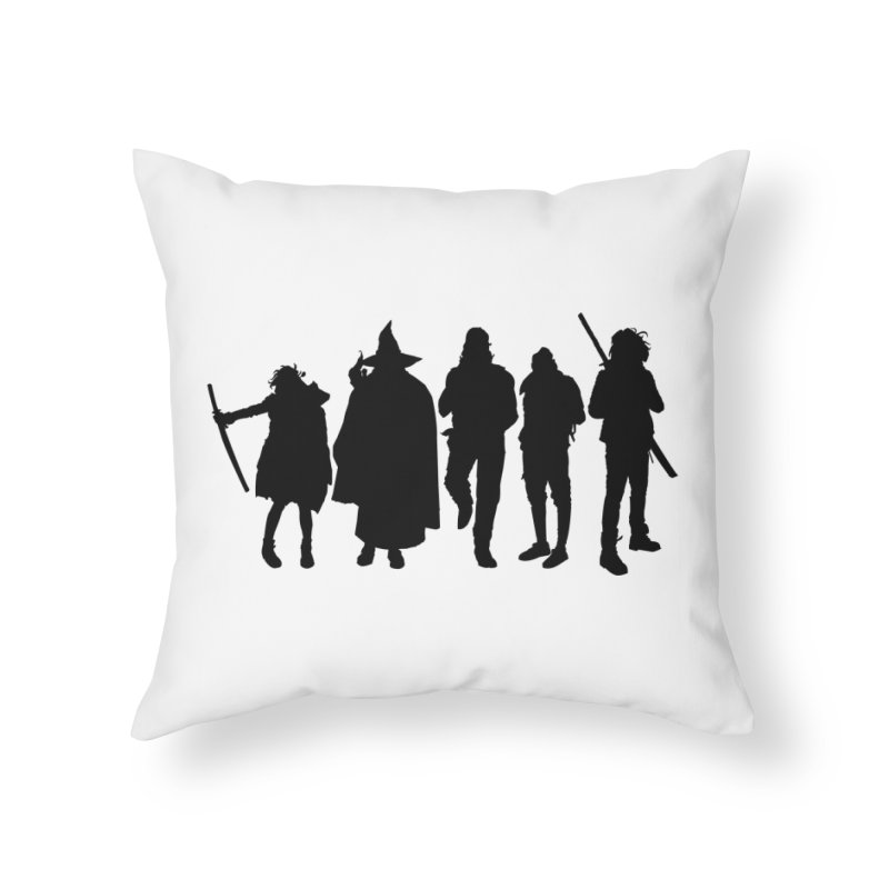NeoScum Shadows Home Throw Pillow by NeoScum Shop