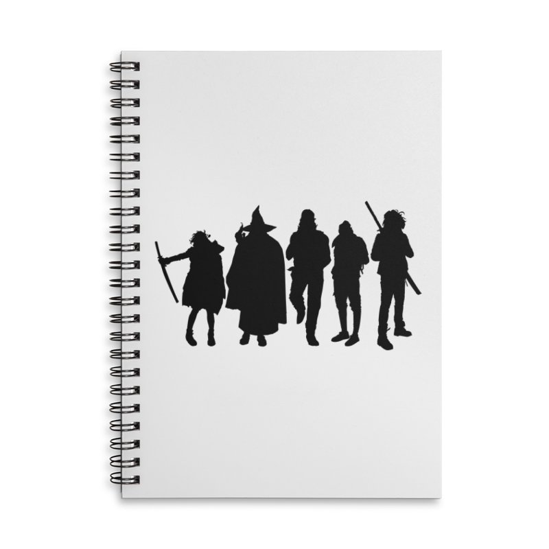 NeoScum Shadows Accessories Lined Spiral Notebook by NeoScum Shop