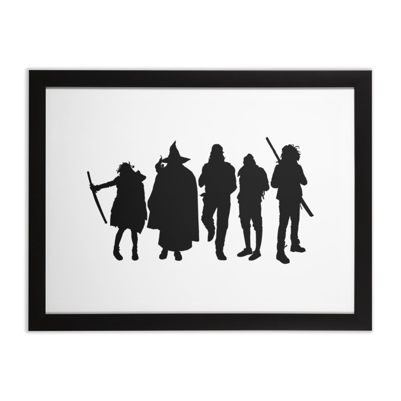 NeoScum Shadows Home Framed Fine Art Print by NeoScum Shop