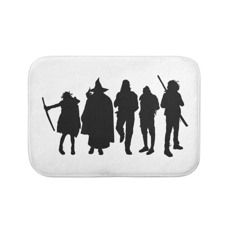 NeoScum Shadows Home Bath Mat by NeoScum Shop