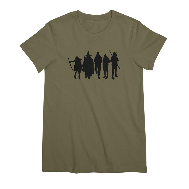 NeoScum Shadows Women's Premium T-Shirt by NeoScum Shop