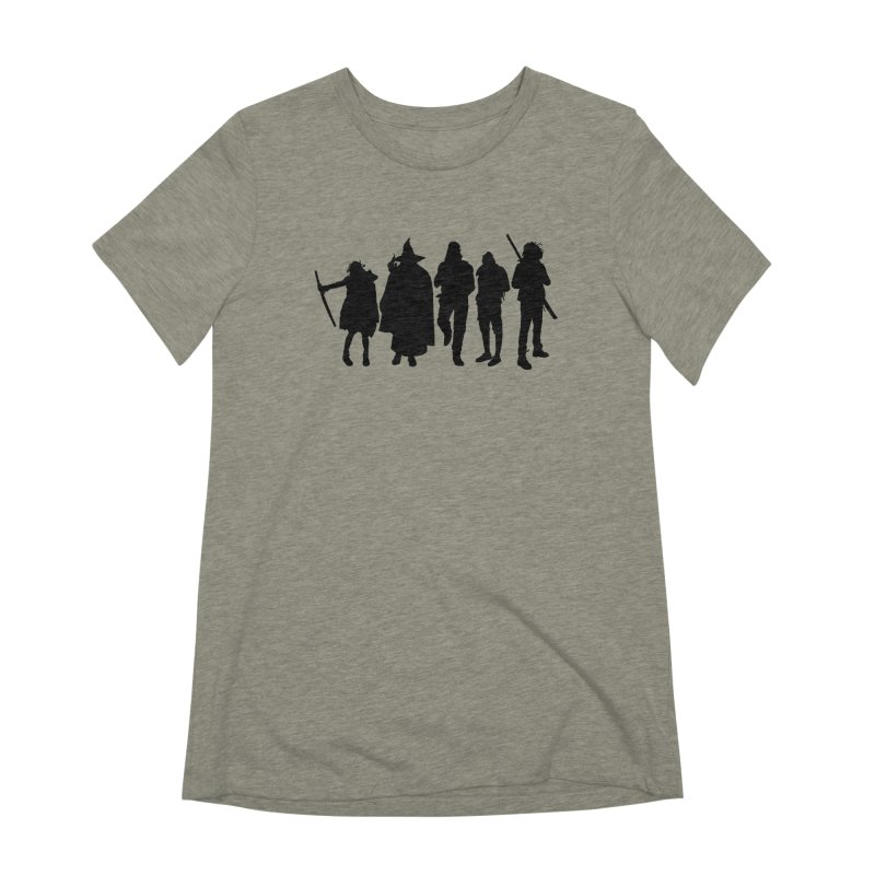 NeoScum Shadows Women's Extra Soft T-Shirt by NeoScum Shop