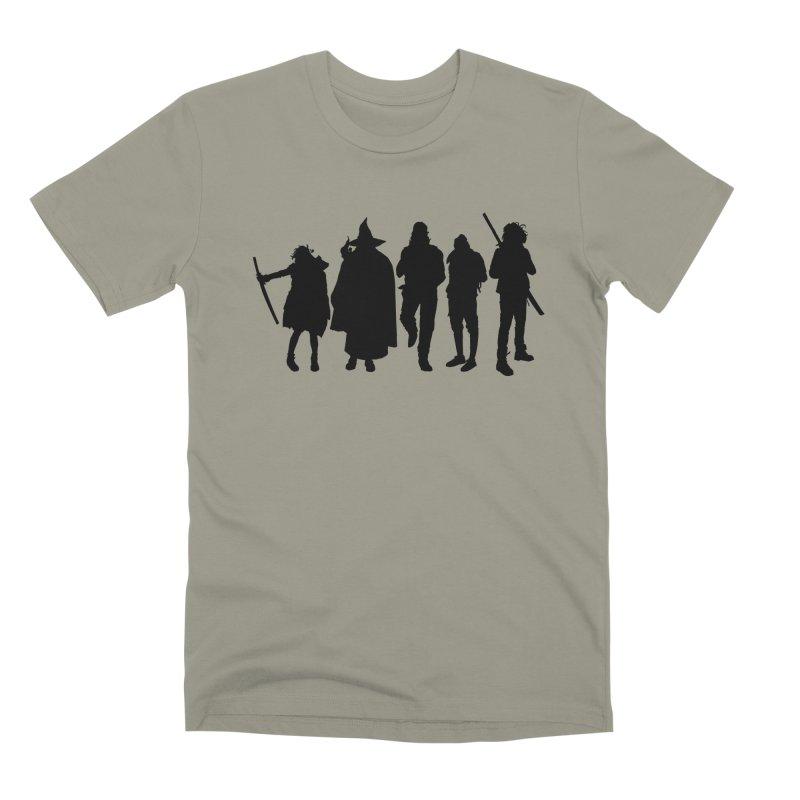 NeoScum Shadows Men's Premium T-Shirt by NeoScum Shop
