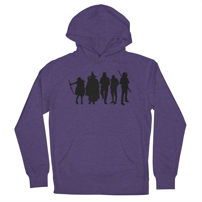 NeoScum Shadows Men's French Terry Pullover Hoody by NeoScum Shop