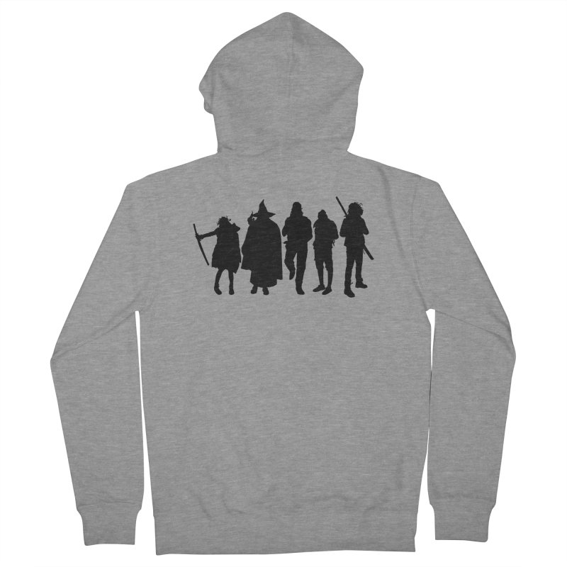 NeoScum Shadows Men's French Terry Zip-Up Hoody by NeoScum Shop