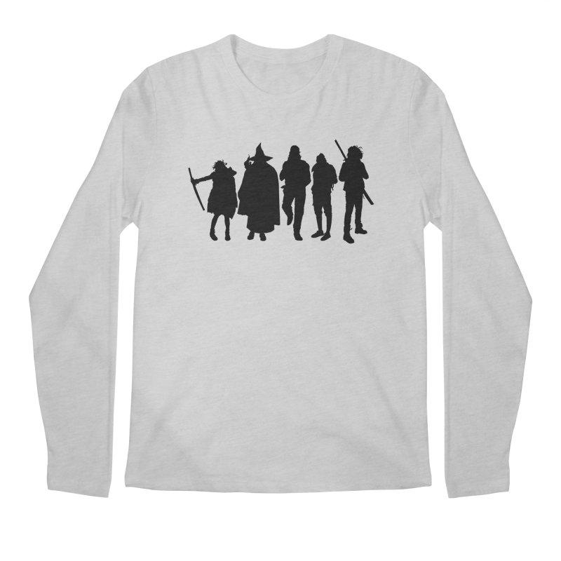 NeoScum Shadows Men's Regular Longsleeve T-Shirt by NeoScum Shop