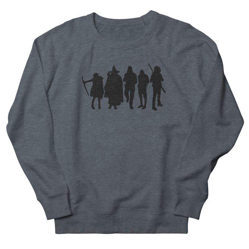 NeoScum Shadows Women's French Terry Sweatshirt by NeoScum Shop