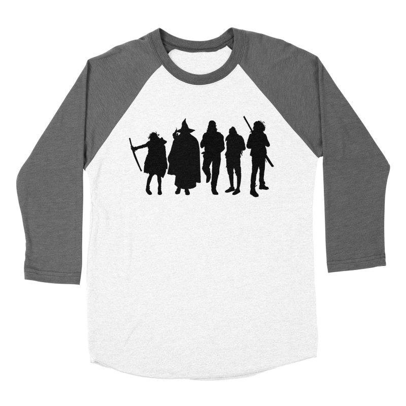 NeoScum Shadows Women's Baseball Triblend Longsleeve T-Shirt by NeoScum Shop
