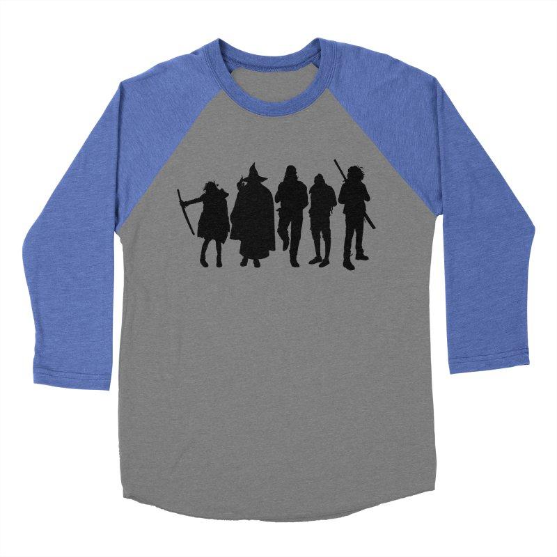 NeoScum Shadows Men's Baseball Triblend Longsleeve T-Shirt by NeoScum Shop