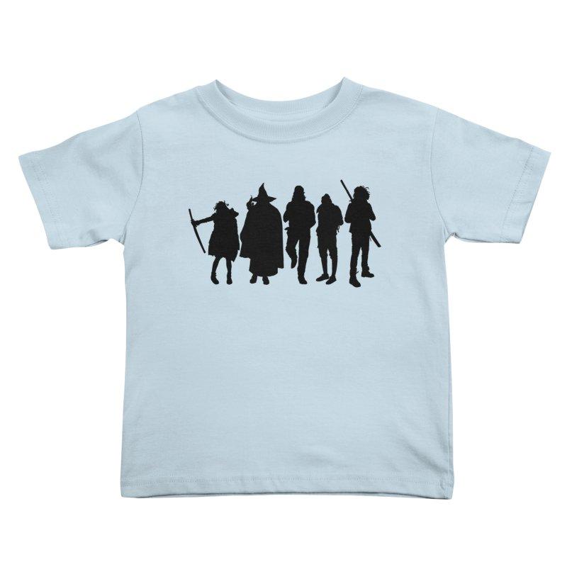 NeoScum Shadows Kids Toddler T-Shirt by NeoScum Shop