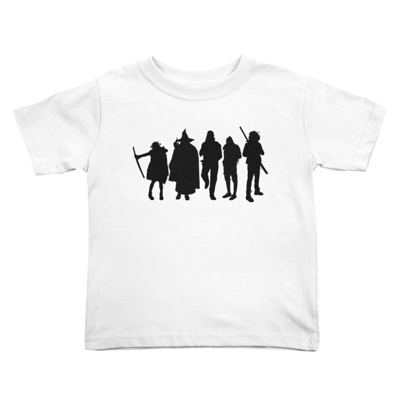 NeoScum Shadows Kids Toddler T-Shirt by NeoScum Shop