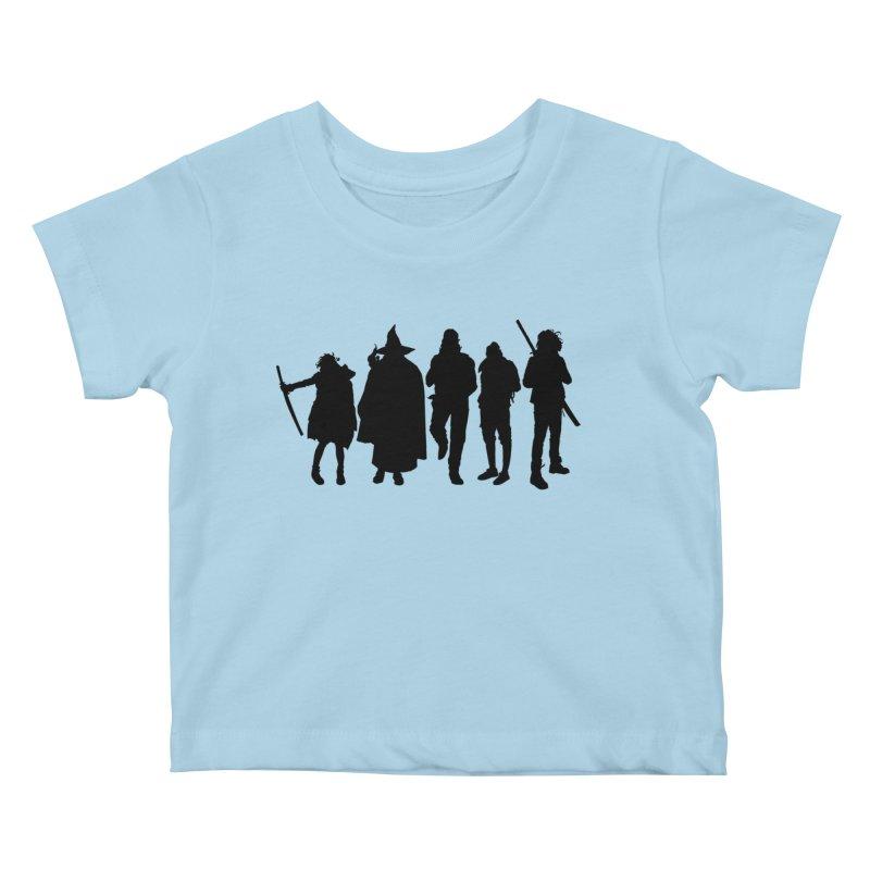 NeoScum Shadows Kids Baby T-Shirt by NeoScum Shop