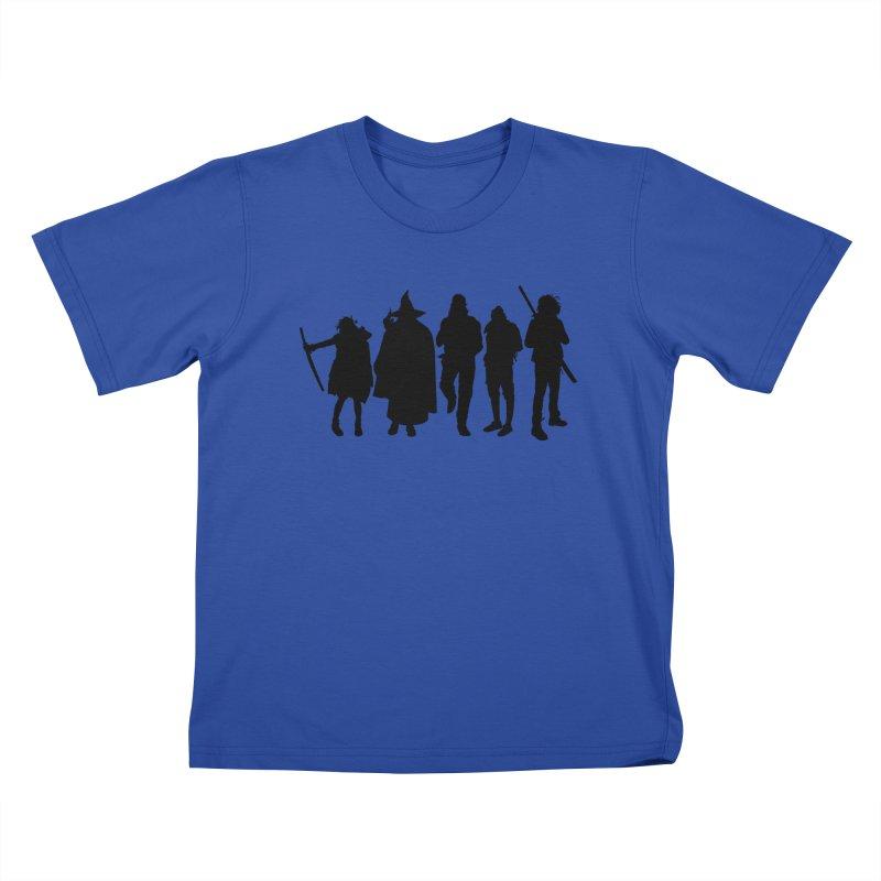 NeoScum Shadows Kids T-Shirt by NeoScum Shop