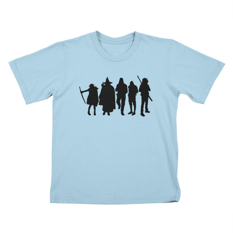 NeoScum Shadows Kids T-Shirt by NeoScum Shop