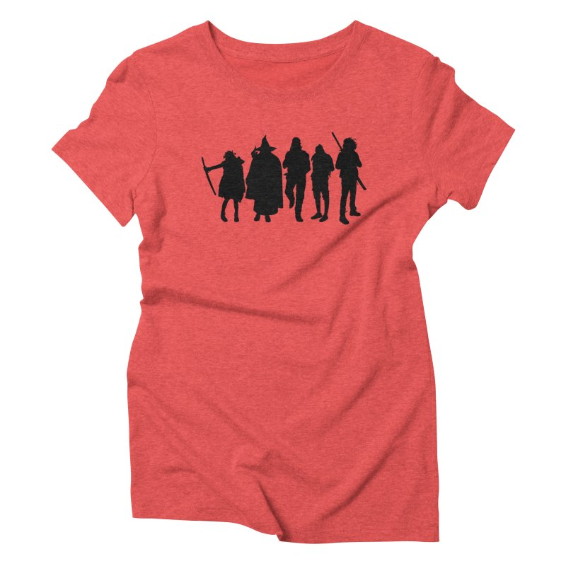 NeoScum Shadows Women's Triblend T-Shirt by NeoScum Shop
