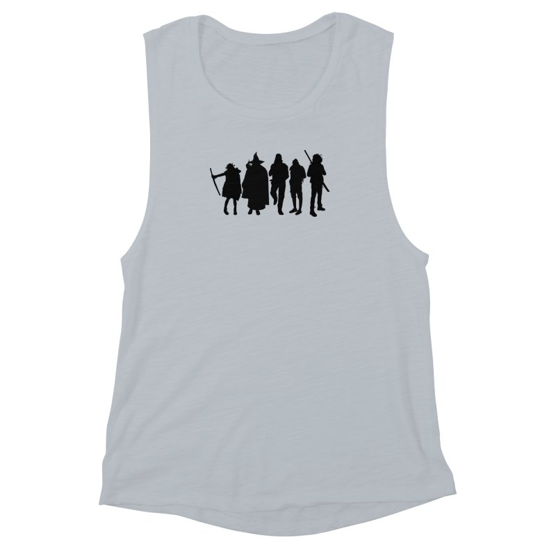 NeoScum Shadows Women's Muscle Tank by NeoScum Shop