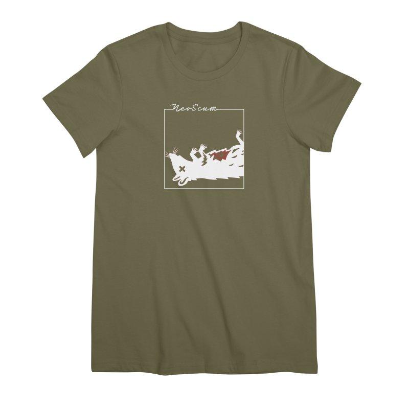 ratcandy (White) Women's Premium T-Shirt by NeoScum Shop