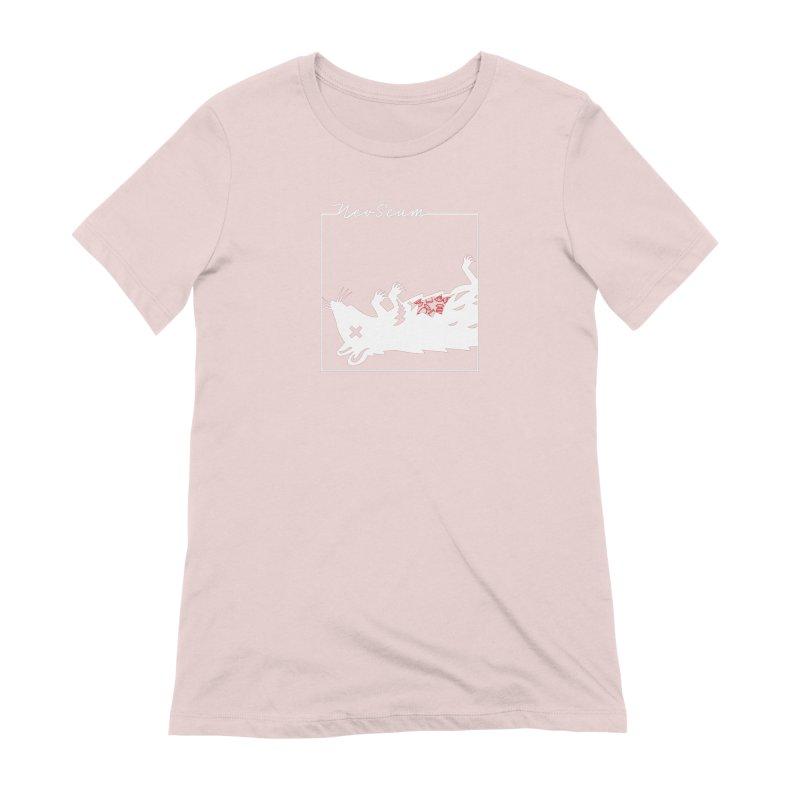 ratcandy (White) Women's Extra Soft T-Shirt by NeoScum Shop