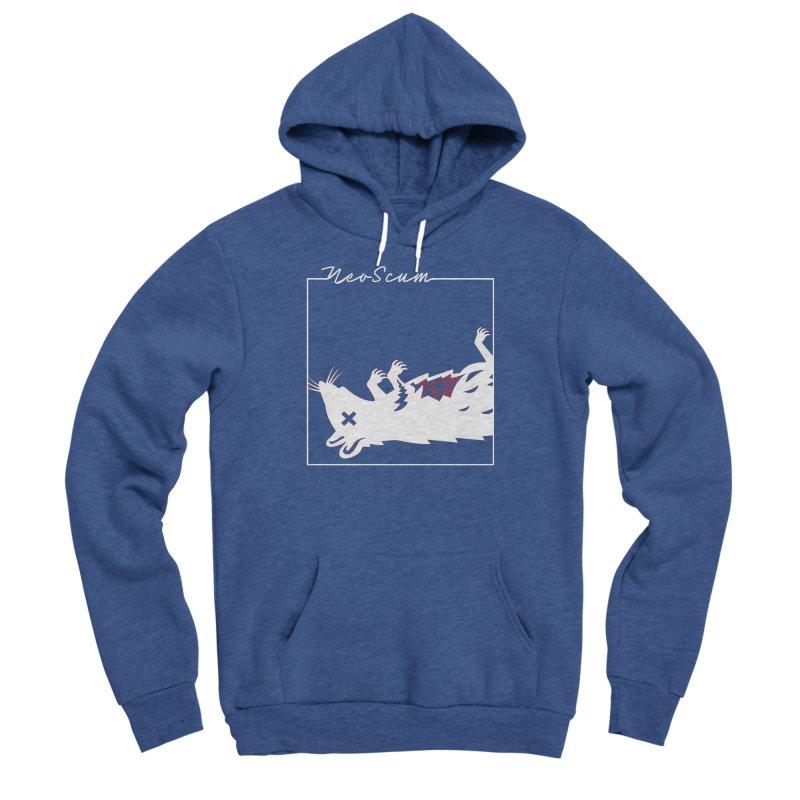 ratcandy (White) Men's Sponge Fleece Pullover Hoody by NeoScum Shop