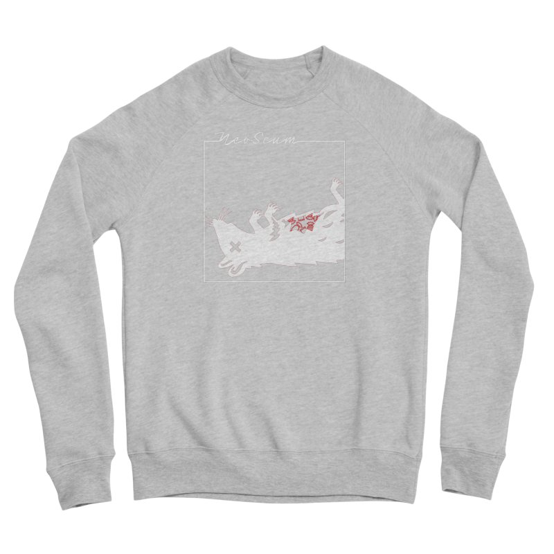 ratcandy (White) Women's Sponge Fleece Sweatshirt by NeoScum Shop