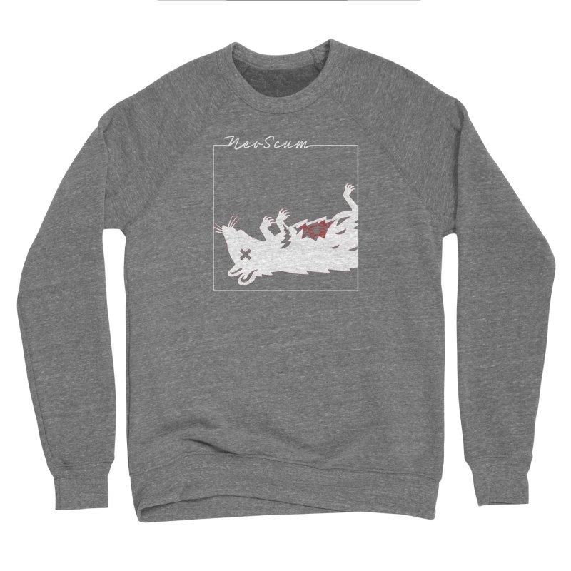 ratcandy (White) Men's Sponge Fleece Sweatshirt by NeoScum Shop