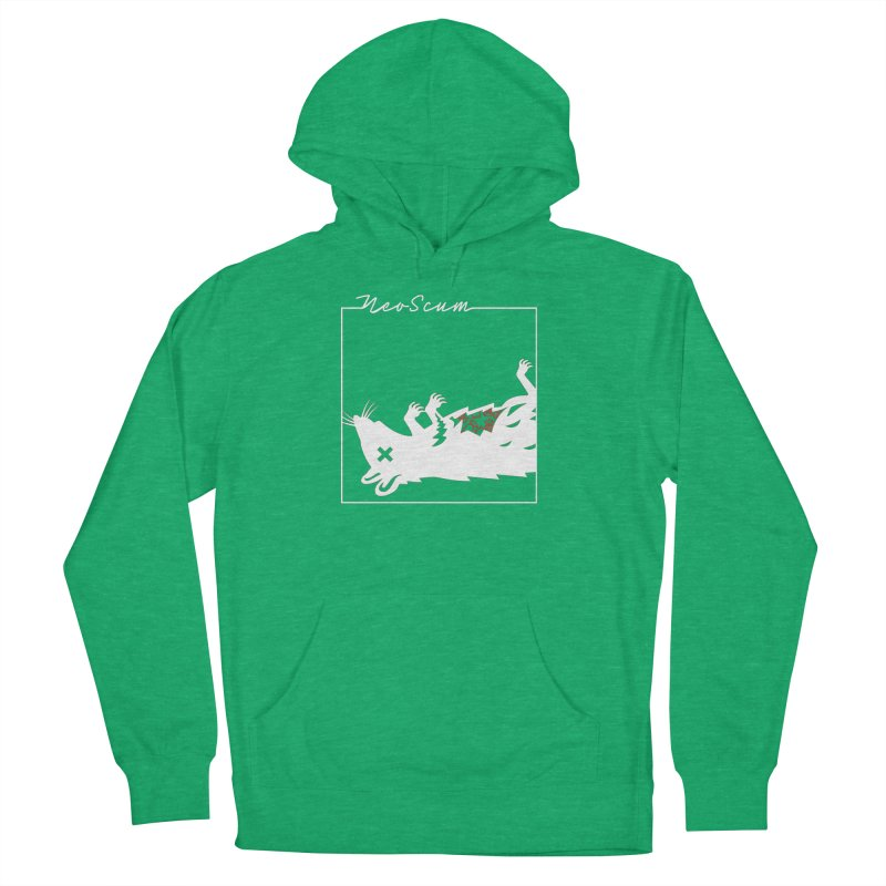 ratcandy (White) Women's French Terry Pullover Hoody by NeoScum Shop