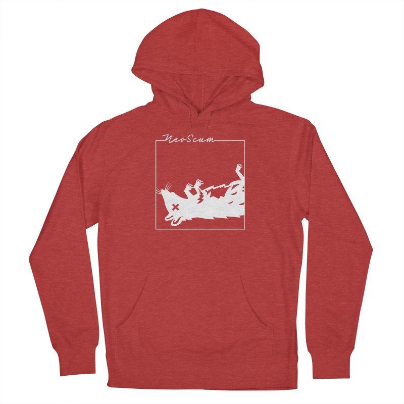 ratcandy (White) Men's French Terry Pullover Hoody by NeoScum Shop