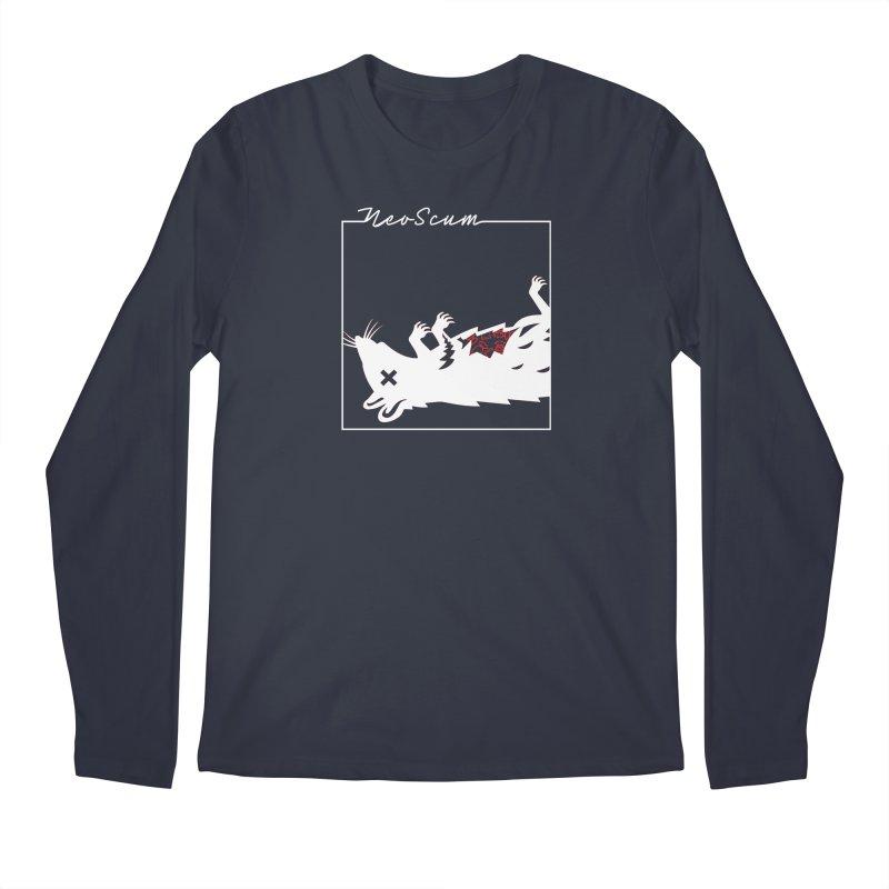 ratcandy (White) Men's Regular Longsleeve T-Shirt by NeoScum Shop