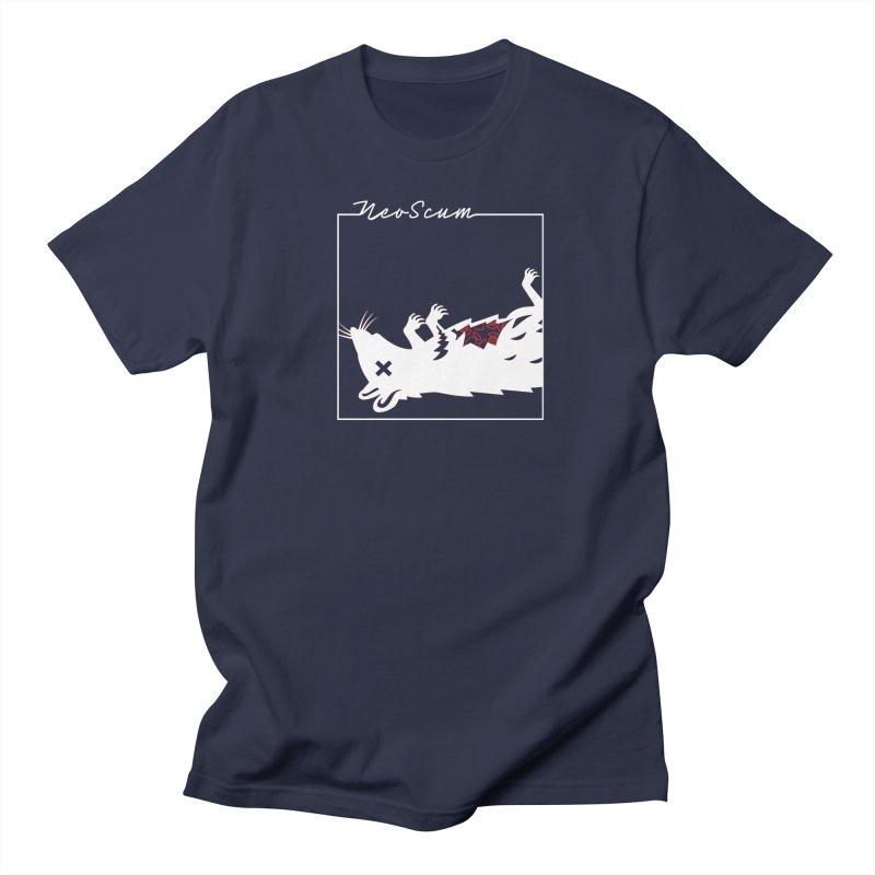 ratcandy (White) Men's Regular T-Shirt by NeoScum Shop