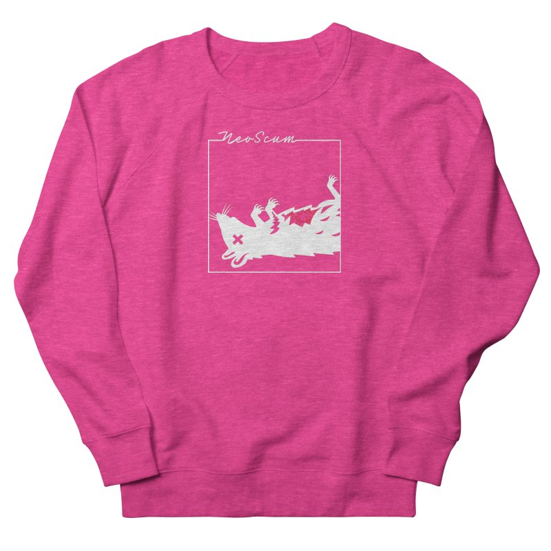 ratcandy (White) Women's French Terry Sweatshirt by NeoScum Shop