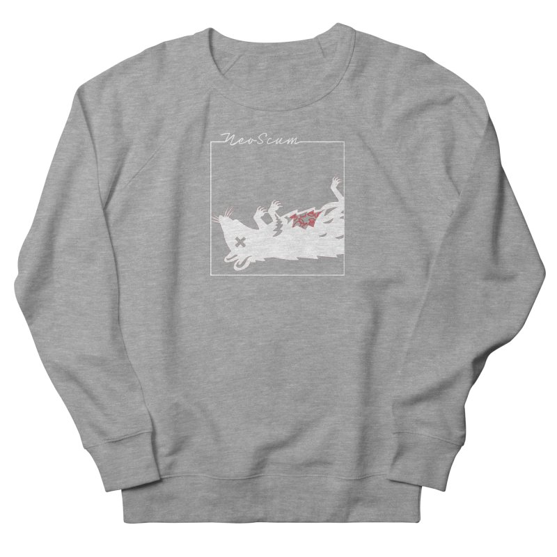 ratcandy (White) Men's French Terry Sweatshirt by NeoScum Shop