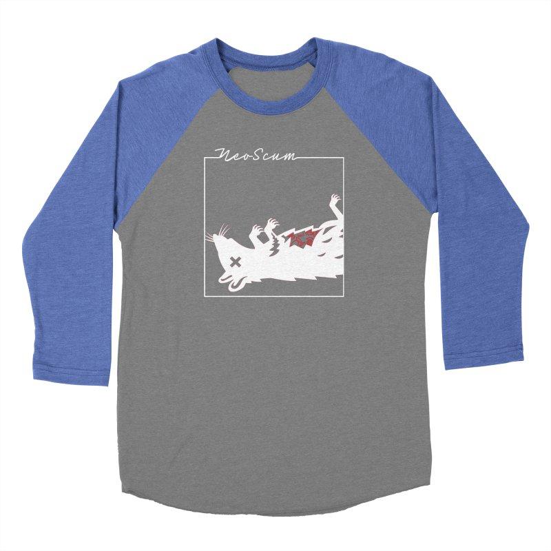 ratcandy (White) Men's Baseball Triblend Longsleeve T-Shirt by NeoScum Shop
