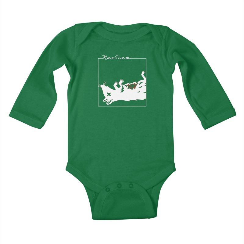 ratcandy (White) Kids Baby Longsleeve Bodysuit by NeoScum Shop
