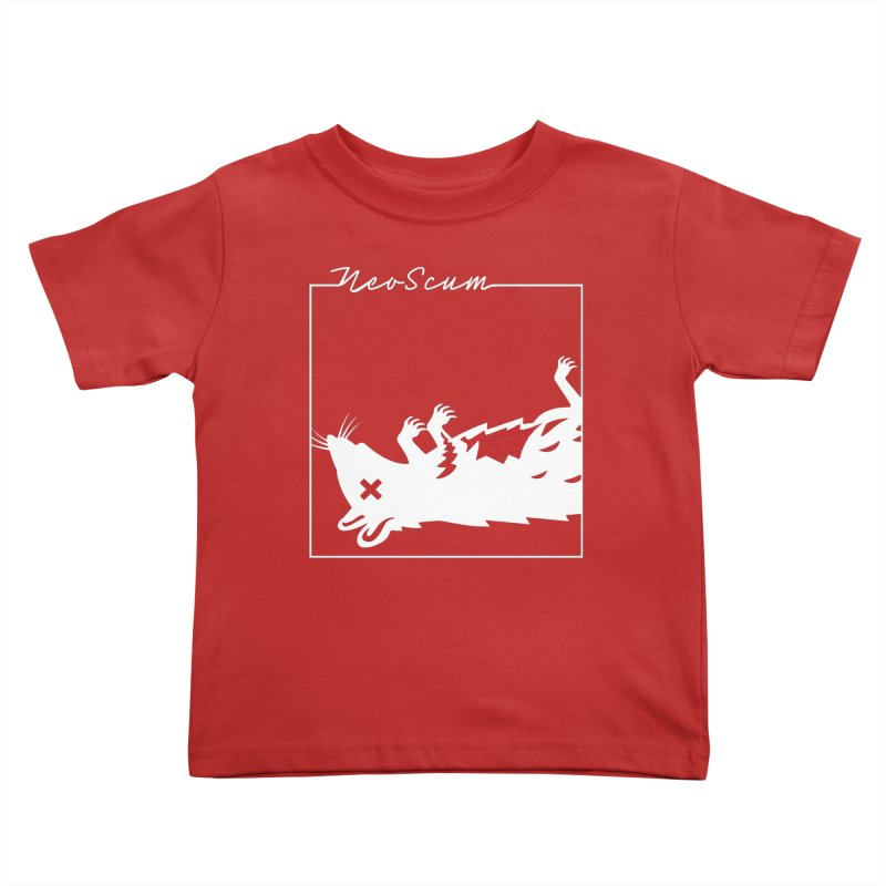 ratcandy (White) Kids Toddler T-Shirt by NeoScum Shop