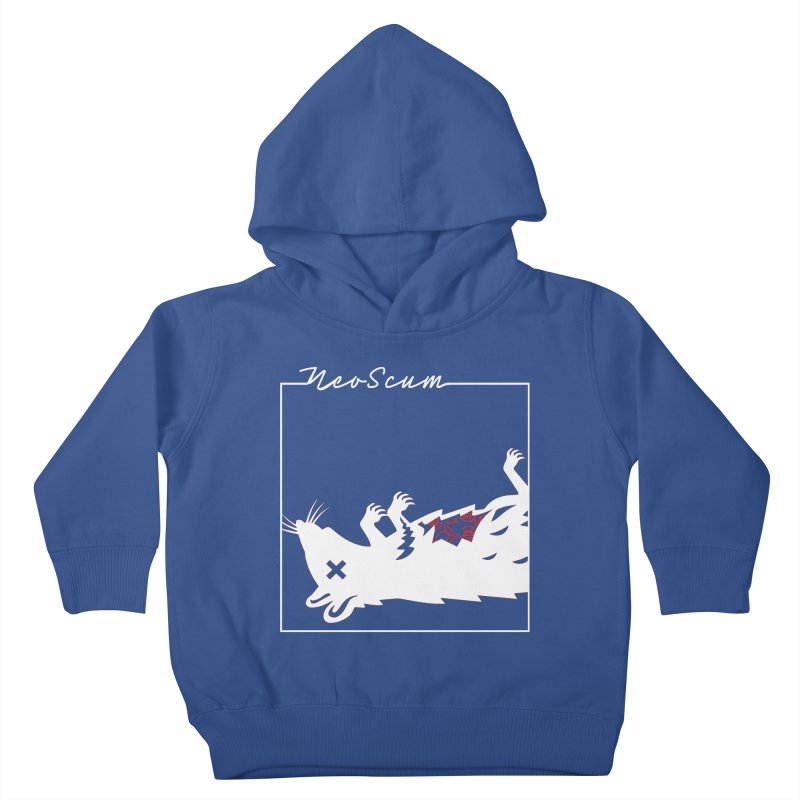 ratcandy (White) Kids Toddler Pullover Hoody by NeoScum Shop