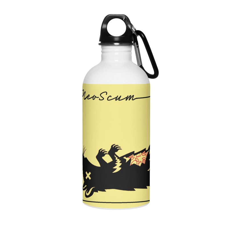ratcandy (Black) Accessories Water Bottle by NeoScum Shop