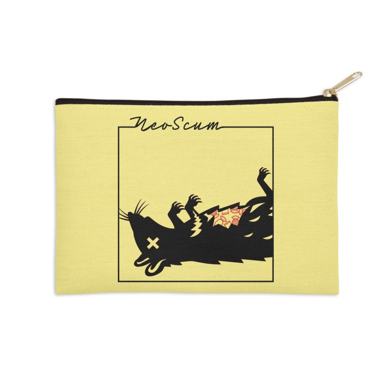 ratcandy (Black) Accessories Zip Pouch by NeoScum Shop