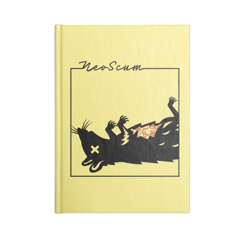 ratcandy (Black) Accessories Blank Journal Notebook by NeoScum Shop