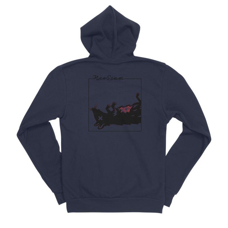 ratcandy (Black) Men's Sponge Fleece Zip-Up Hoody by NeoScum Shop