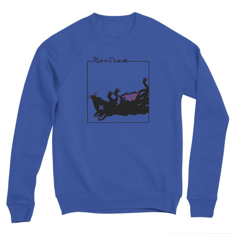 ratcandy (Black) Men's Sponge Fleece Sweatshirt by NeoScum Shop