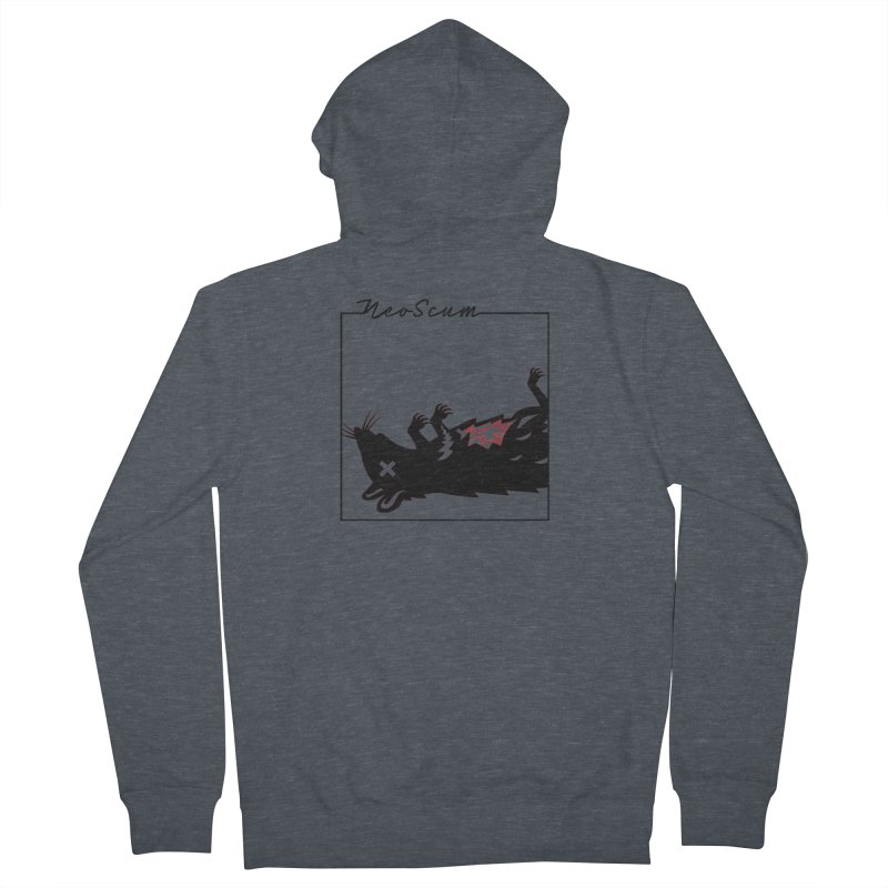 ratcandy (Black) Women's French Terry Zip-Up Hoody by NeoScum Shop