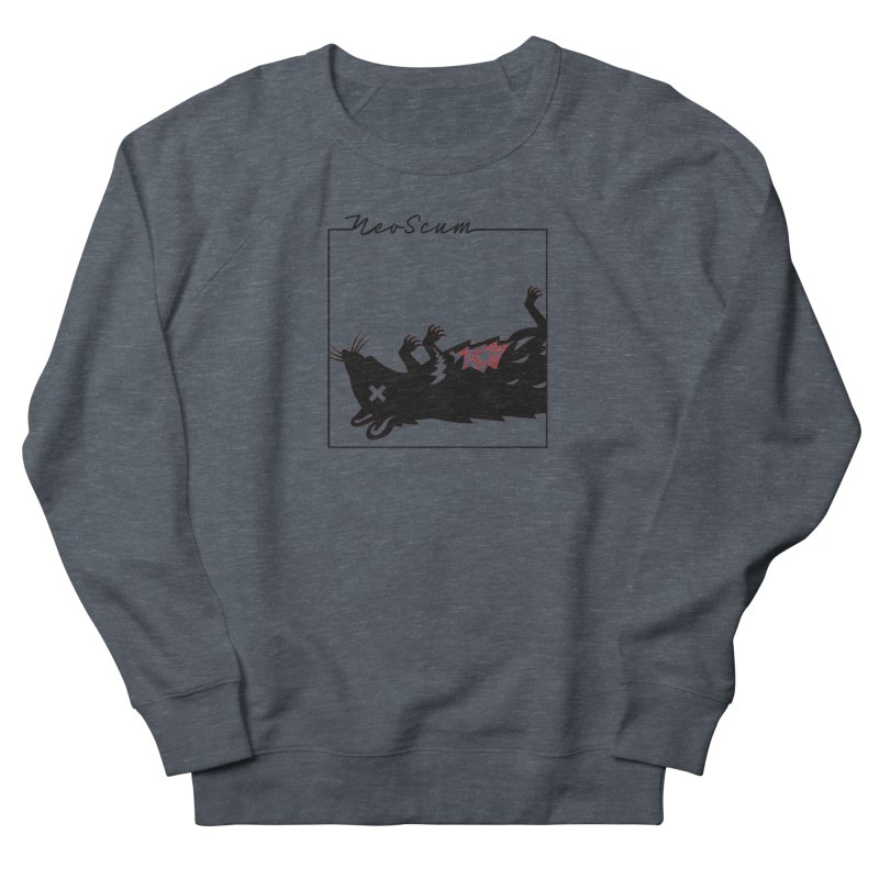 ratcandy (Black) Women's French Terry Sweatshirt by NeoScum Shop