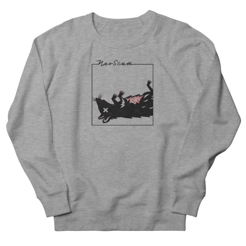 ratcandy (Black) Men's French Terry Sweatshirt by NeoScum Shop
