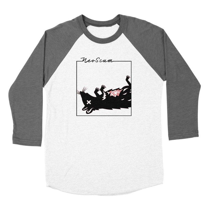 ratcandy (Black) Women's Baseball Triblend Longsleeve T-Shirt by NeoScum Shop